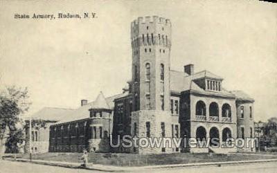 Armory - Hudson, New York NY Postcard