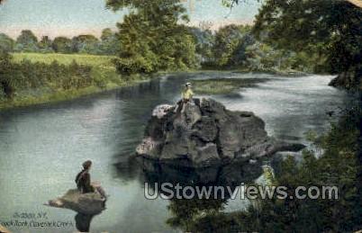 Claverack Creek - Hudson, New York NY Postcard