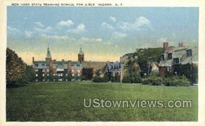 Training School - Hudson, New York NY Postcard