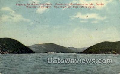 Hudson Highlands - New York NY Postcard