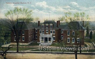 Hospital - Hudson, New York NY Postcard