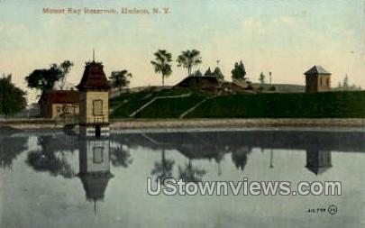 Mounta Ray Reservoir - Hudson, New York NY Postcard