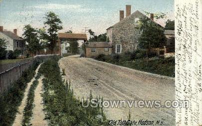 Old Toll Gate - Hudson, New York NY Postcard