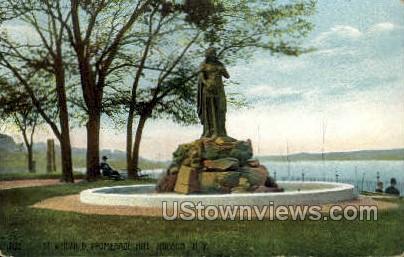 St. Winifred - Hudson, New York NY Postcard