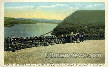 Mountain Side - Hudson, New York NY Postcard