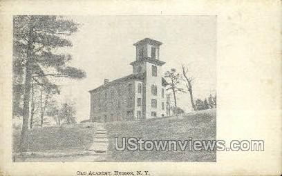 Old Academy - Hudson, New York NY Postcard