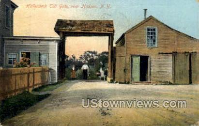Hallenbeck Toll Gate - Hudson, New York NY Postcard
