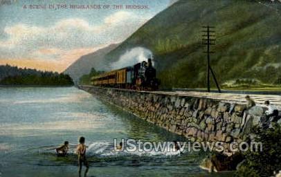 Highlands - Hudson, New York NY Postcard