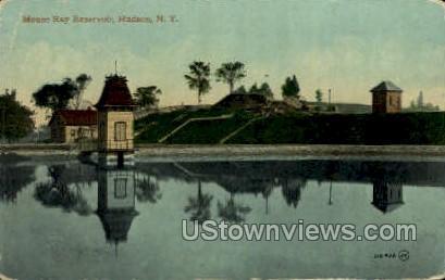 Mt. Ray Reservoir - Hudson, New York NY Postcard