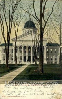 Court House - Hudson, New York NY Postcard