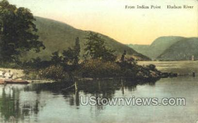Indian Point - Hudson RIver, New York NY Postcard