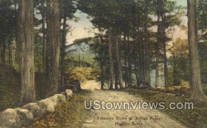 Indian Point - Hudson RIver, New York NY Postcard