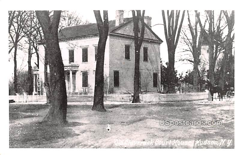Old Claverack Court House - Hudson, New York NY Postcard