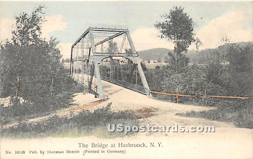 The Bridge - Hasbrouck, New York NY Postcard
