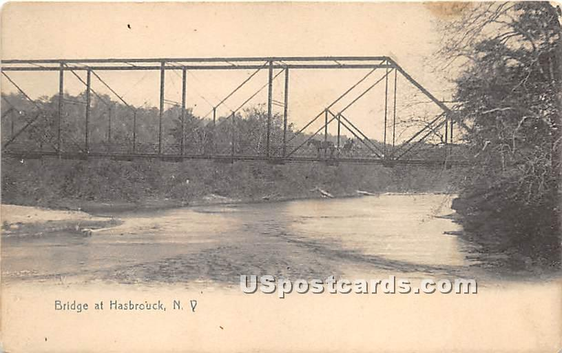 Bridge - Hasbrouck, New York NY Postcard