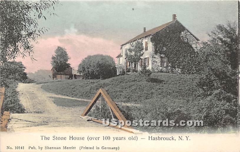 The Stone House - Hasbrouck, New York NY Postcard