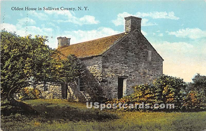Olest House - Hasbrouck, New York NY Postcard
