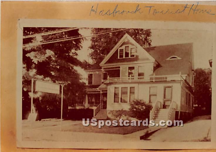 Hasbrouck Tourist Home - New York NY Postcard