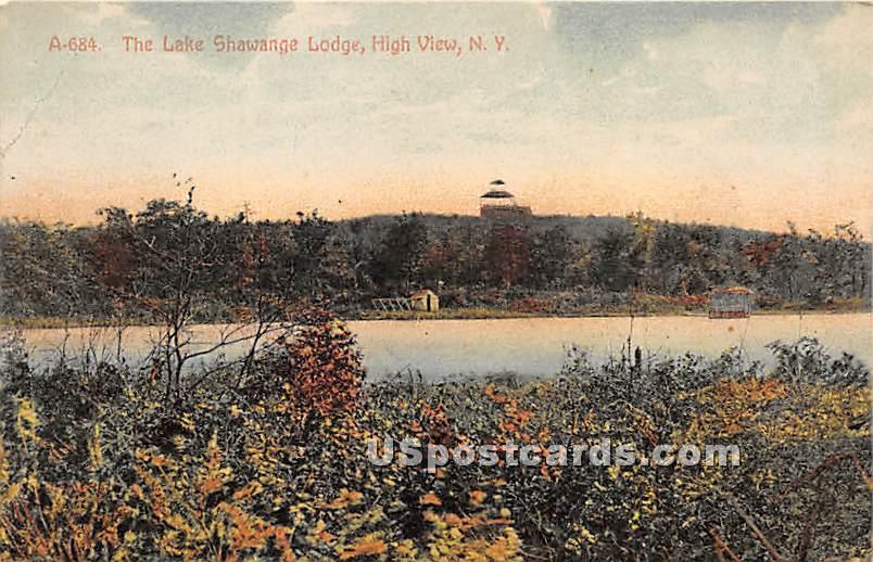 The Lake - High View, New York NY Postcard