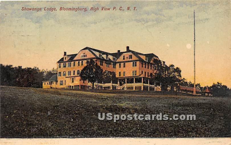 Shawanga Lodge - High View, New York NY Postcard