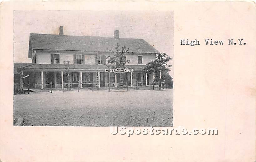 Hotel High View - New York NY Postcard