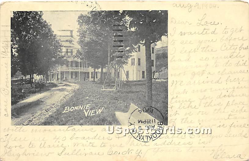 Bonnie View - High View, New York NY Postcard