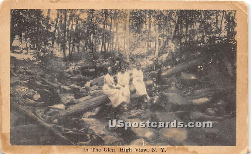The Glen - High View, New York NY Postcard