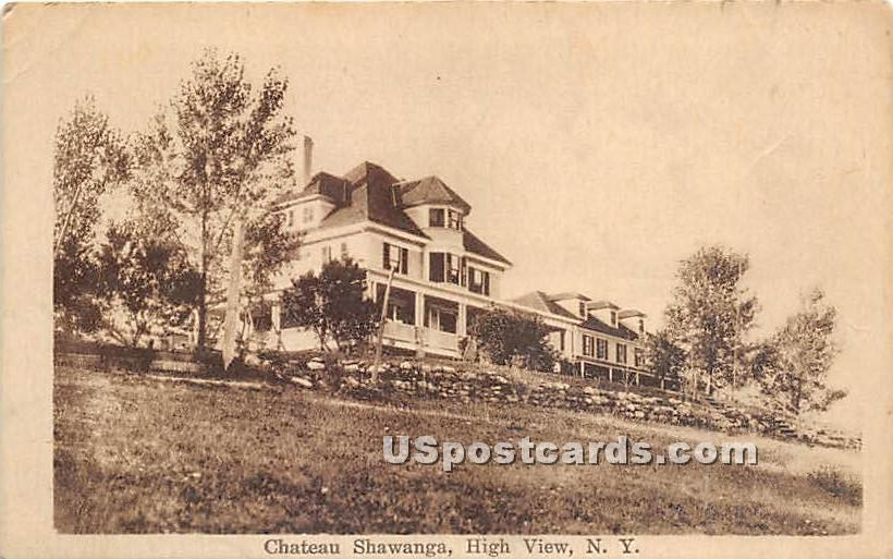 Chateau Shawanga - High View, New York NY Postcard