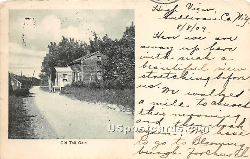 Old Toll Gate - High View, New York NY Postcard
