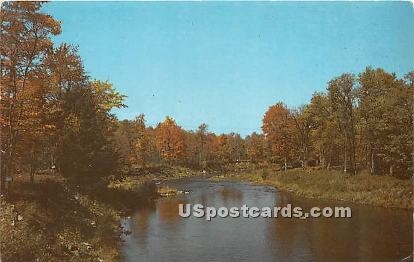Eagle's Nest - High View, New York NY Postcard