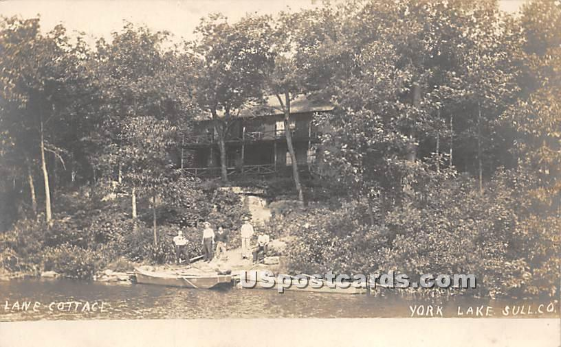 Lane Cottage - Highland Lake (Venoge, New York NY Postcard