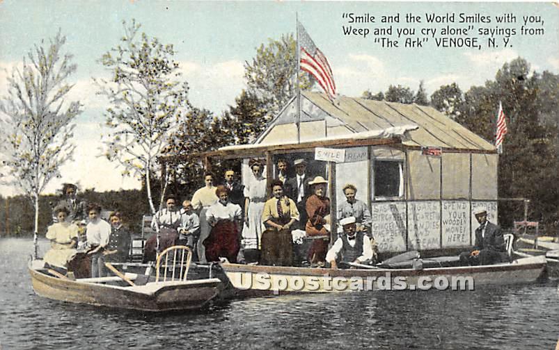 The Ark - Highland Lake (Venoge, New York NY Postcard