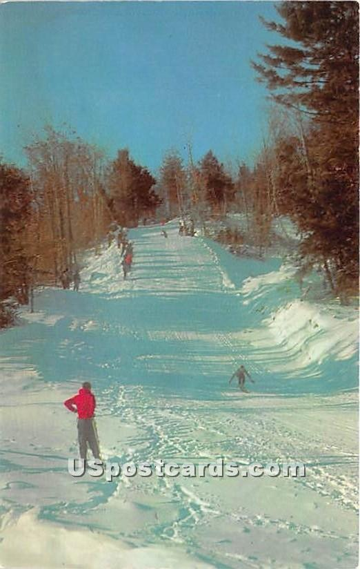 Snow Scene - Hurleyville, New York NY Postcard