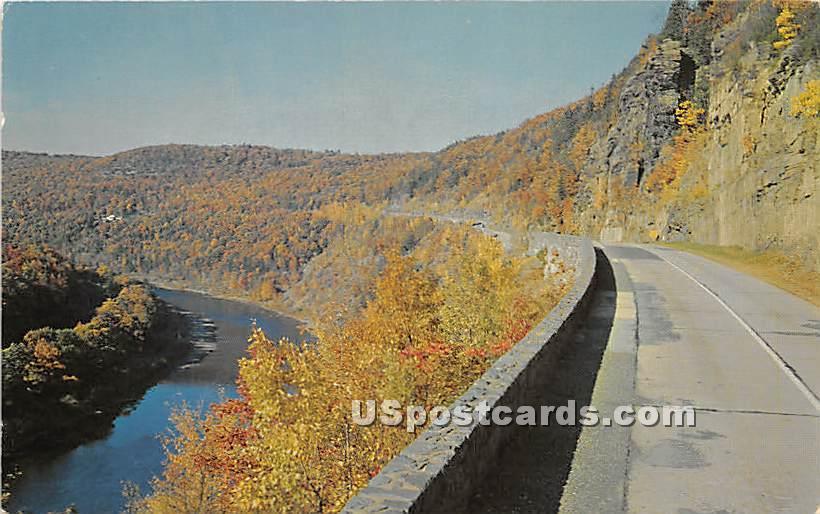 Beautiful Mountain Vistas - Hurleyville, New York NY Postcard