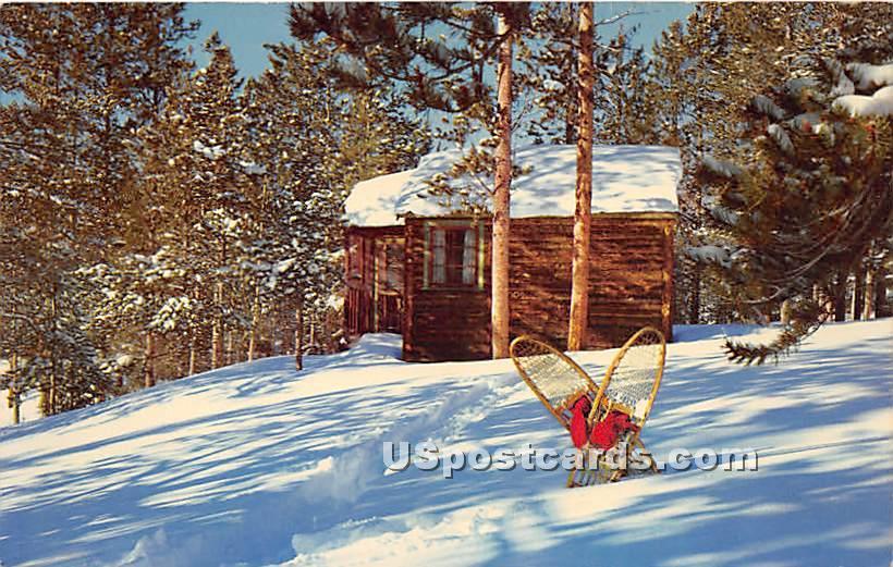 Winter's Muted Quiet - Hurleyville, New York NY Postcard