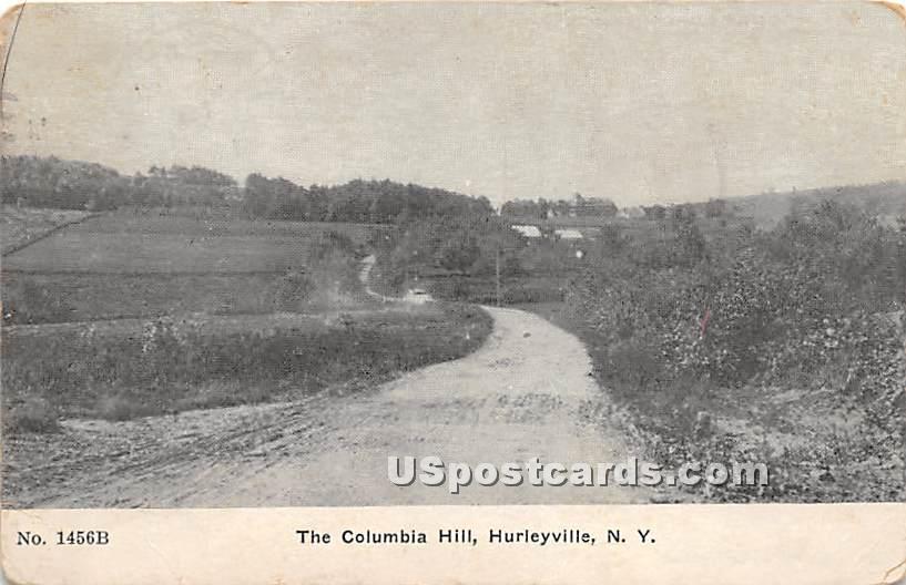 The Columbia Hill - Hurleyville, New York NY Postcard