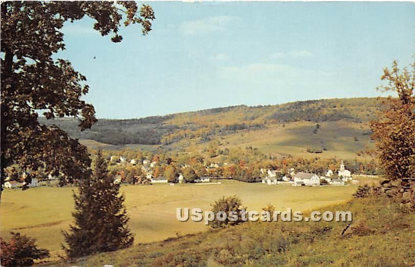 Mountain Village - Hurleyville, New York NY Postcard