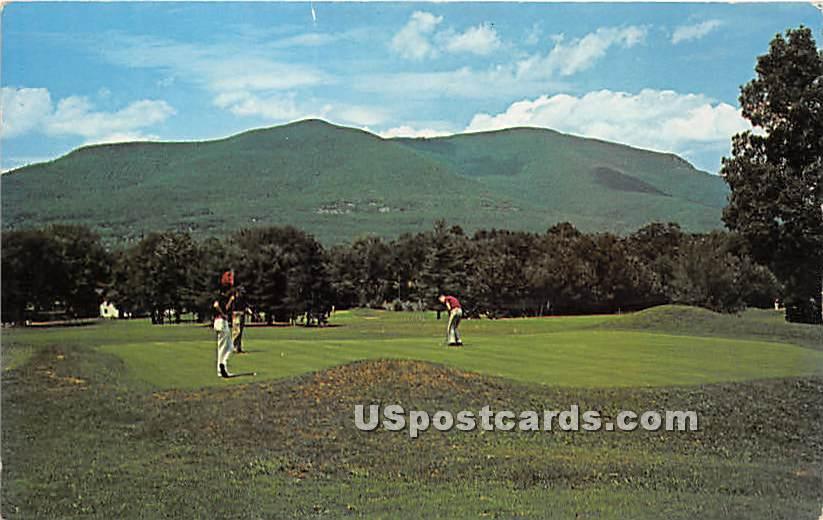 Mountain Looks On - Hurleyville, New York NY Postcard