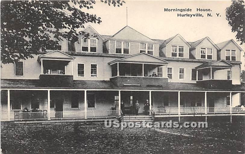 Morningside House - Hurleyville, New York NY Postcard
