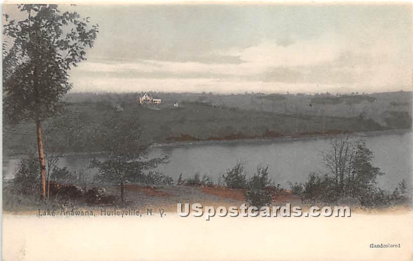 Lake Anawana - Hurleyville, New York NY Postcard