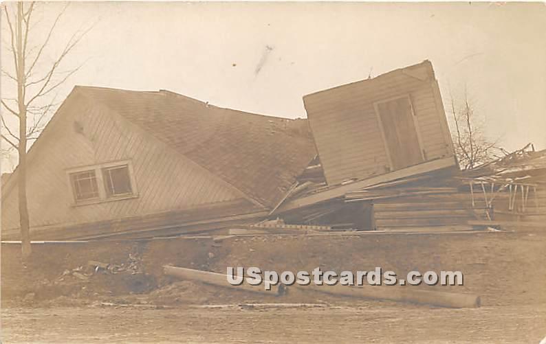 Disaster April 7, 1912 - Hurleyville, New York NY Postcard