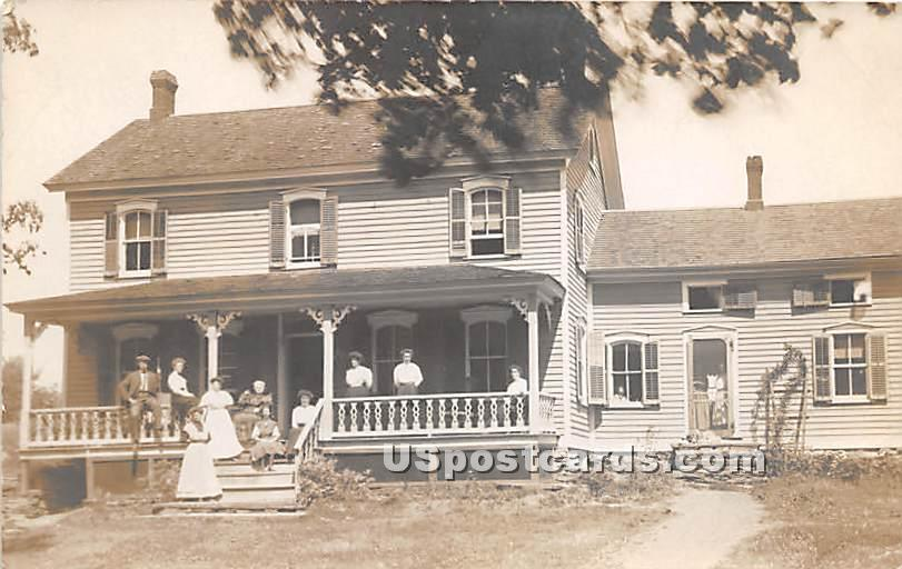 House View - Hurleyville, New York NY Postcard