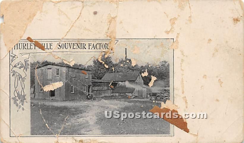 Souvenier & Factory - Hurleyville, New York NY Postcard