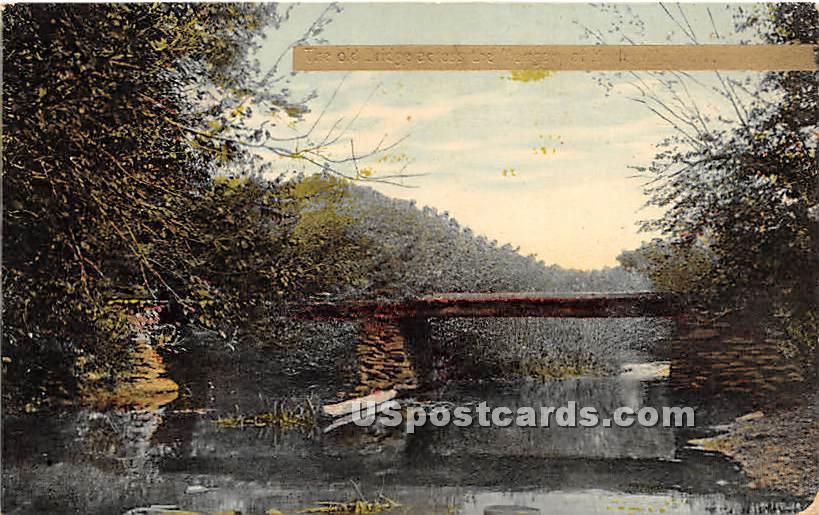 Old Bridge - Hurleyville, New York NY Postcard