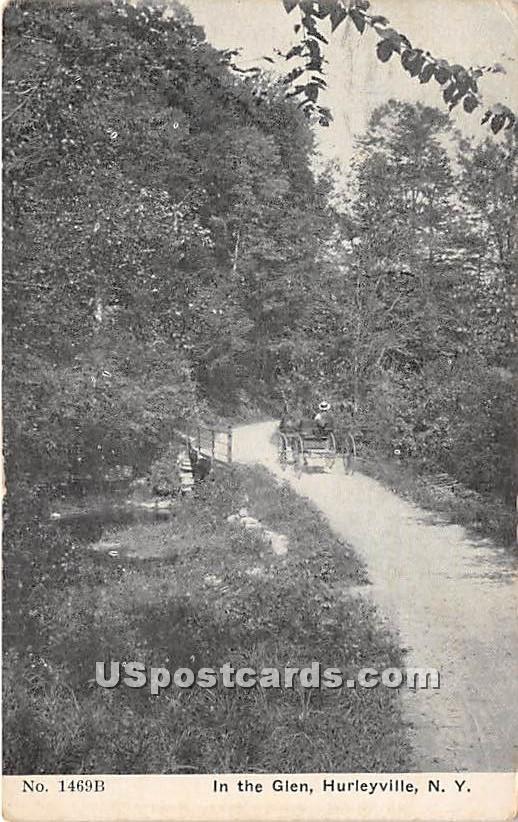 In the Glen - Hurleyville, New York NY Postcard