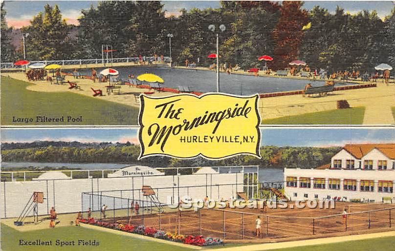 The Morningside - Hurleyville, New York NY Postcard