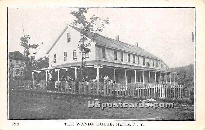 Wanda House - Harris, New York NY Postcard