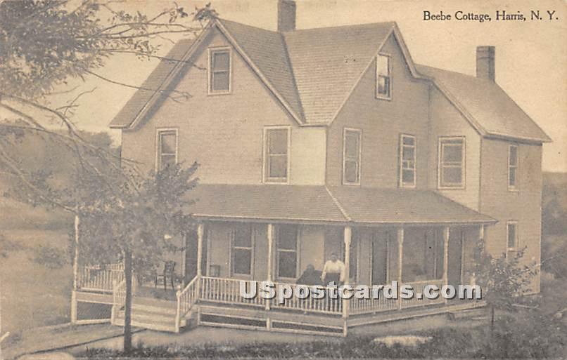 Beebe Cottage - Harris, New York NY Postcard