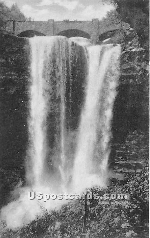 Haines Falls, Twilight Park - New York NY Postcard