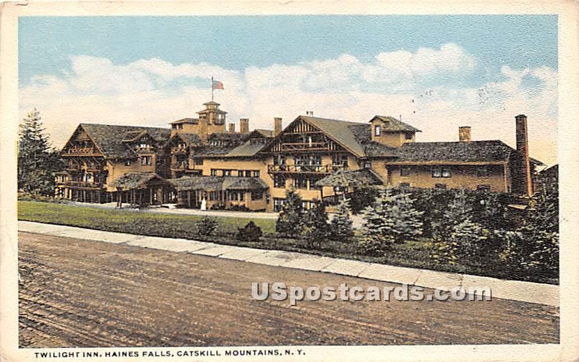 Twilight Inn, Catskills Mountains - Haines Falls, New York NY Postcard